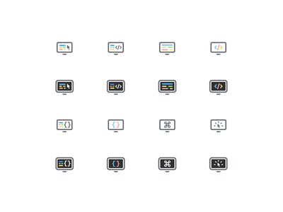Frontend Icons & Swag swag merch team frontend web development iconography icon set icon