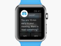 Short - Apple Watch Notification