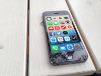 Free iPhone 5s Mockup
