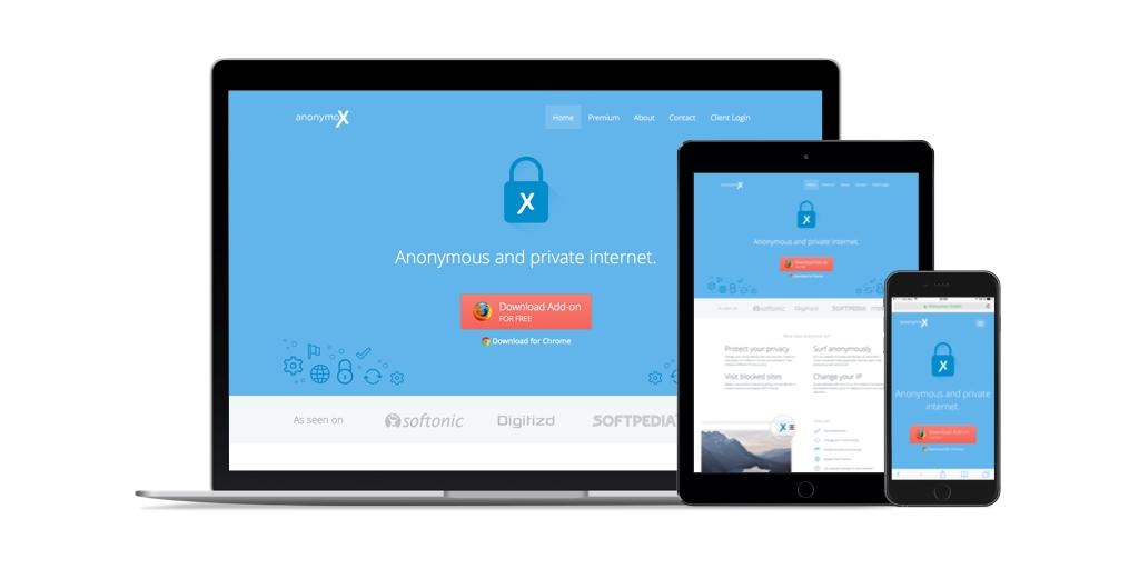 Anonymox website