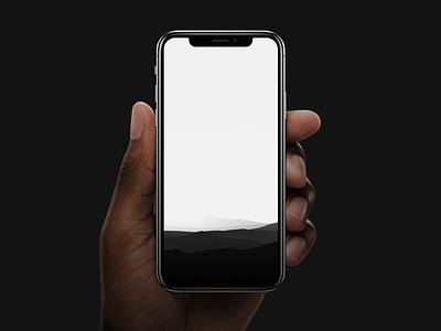 Pure Wallpaper free iphone x wallpaper iphone illustration landscape vector download