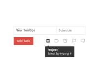 Tooltips project