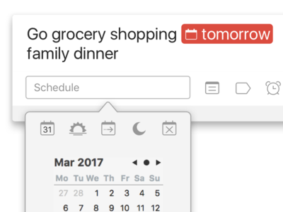 Quick Add for Todoist 7.0 on macOS