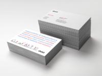 Doist business card detail