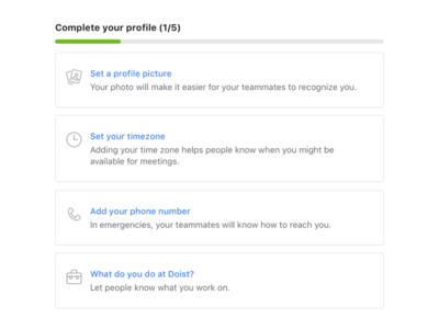 Complete Your Profile – Twist Onboarding