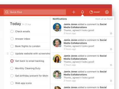 Todoist Web Redesign Sneak Peek