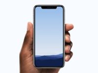 iPhone X Minimalistic Wallpaper