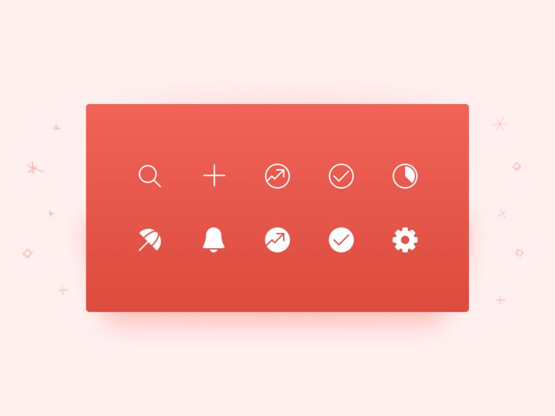 New Todoist Navigation Icon Set productivity set desktop icon ui todoist