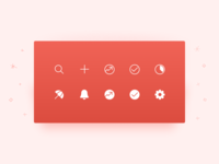 New Todoist Navigation Icon Set