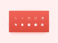 New Todoist Navigation Icon Set