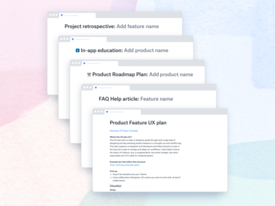 📄 Document templates for designers