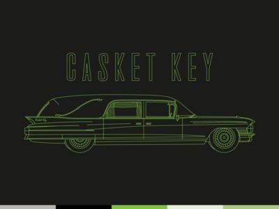 Casket Key — Hearse