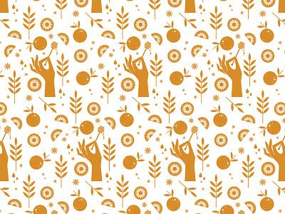 mandala chai RIP — pattern spokane pattern illustration identity branding chai mandala