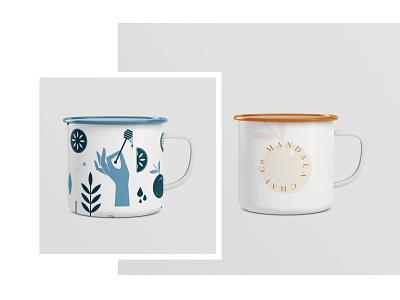 mandala chai mugs rip spokane concept mug identity branding chai mandala
