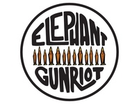 Elephant Gun Riot Pinbacks