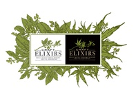 web portal for craft elixirs small batch syrups