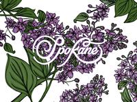 Spokane; The Lilac City
