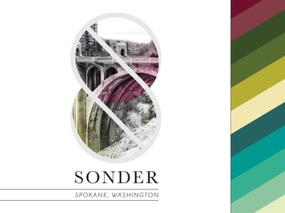 Sonder Wall Graphic + Brand Colors