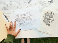Jekyll & Hyde Branding—Process