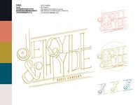 Jekyll & Hyde Branding — RIP full set