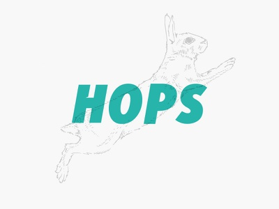 Got hops? basketball spokane hoopfest illustration sketch rabbit bunny hop hops