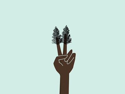 Sustainability Awareness illustration illustration tree sustainability sustainable awareness campaign