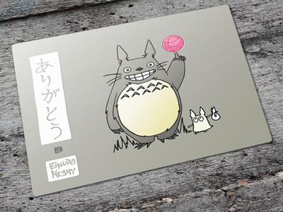 Totoro - Arigato