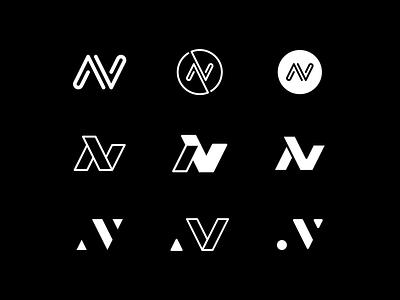 VN Monogram - Ideas wip logo photography vn letters vn monogram logo design