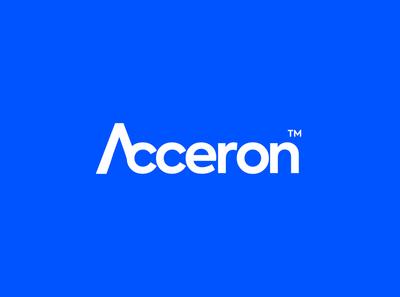 Acceron Logo acceron minimal modern tech design identity graphic design company logo branding design branding brand identity