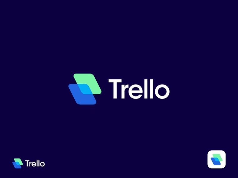 Trello Brand logos collaborationtool logo design projectmanagement logo design branding trello logo designer logodesign logotype design company modern logo graphic design branding design branding brand identity