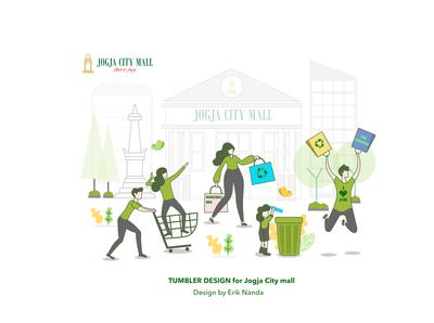 Go Green Illustration