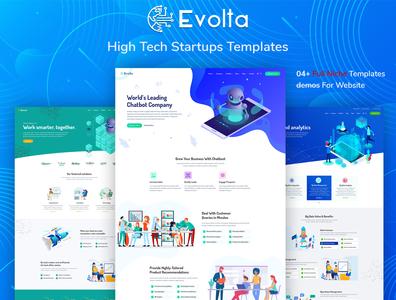 Evolta - High Tech Startups HTML Template