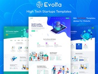 Evolta - High Tech Startups HTML Template