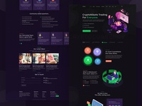 Nikata - ICO and Cryptocurrency Landing HTML Template
