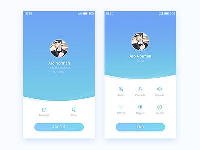 Incoming Call kyouo call app incoming phone ui