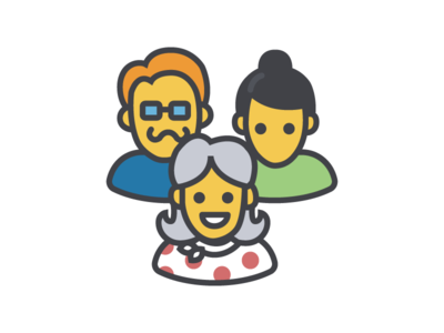 Accessibility illustration marketing female diversity contrast guidance emoticons users people icons line illustration accessibility