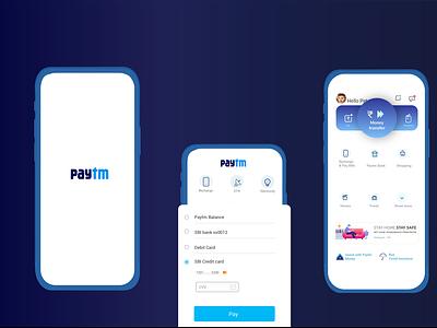 paytm3 illustration app ui ux design