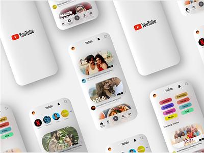 youtube design ui ux design