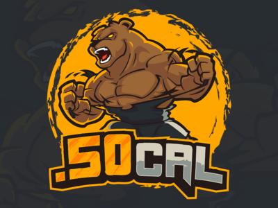 50 Cal Logo Design