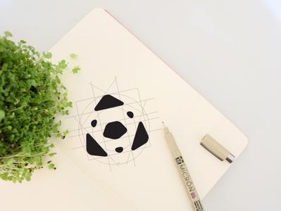 Geometric Animal Logo Design