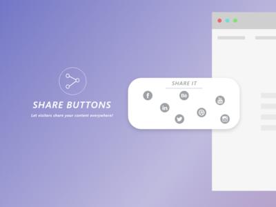 Social share design #DailyUI Day10
