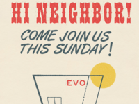 Hi Neighbor! Come Join Us!