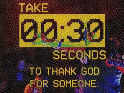 Take 30 secs