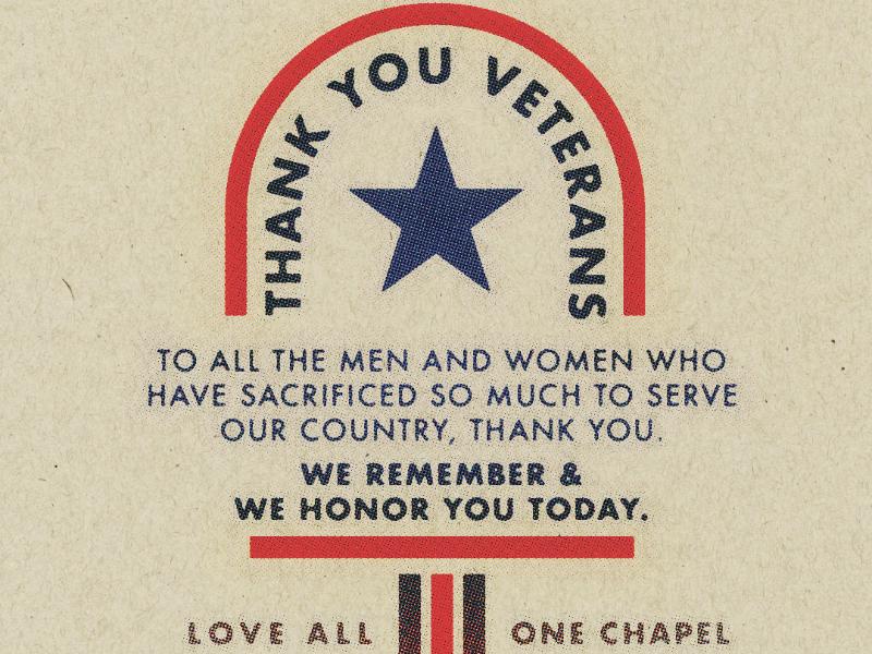 Thank You Veterans retro print graphic design veterans day