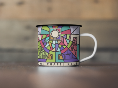 One Chapel Kyle mug design