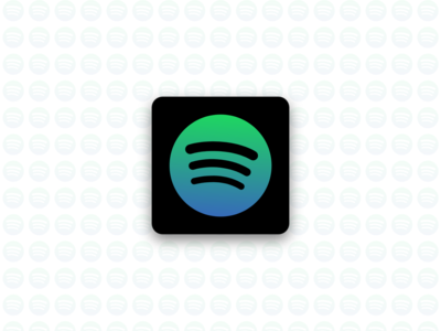 Spotify gradient icon