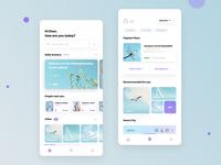 Photography App icon figma ui ux minimal interface blue clean ui design
