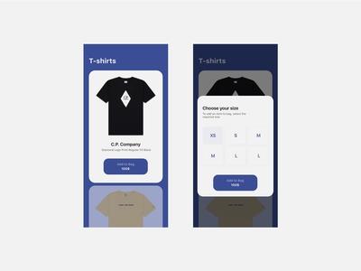 E-commerce, clothing shop