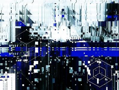 unttld art experimental glitch effect digitalart glitchart newmediaart generativeart abstract art