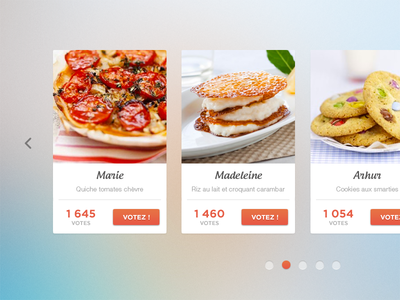 Recipe slideshow by brian scholving dribbble recipe slideshow forumfinder Image collections